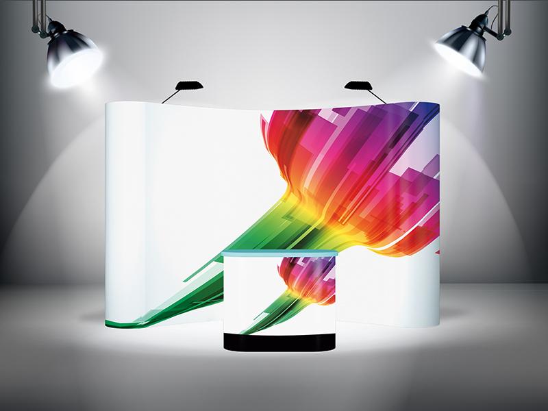 Ścianka POP-Up 3x3 Magnetic - Łukowa